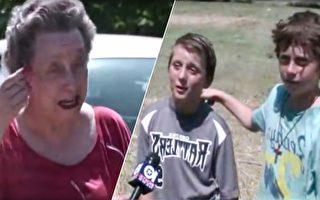 4兄弟偷偷潛入老奶奶家 結果讓老人感動落淚