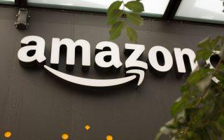 10月4日,歐盟宣布對電商亞馬遜進行近3億美元的罰款。 (David Ryder/Getty Images)