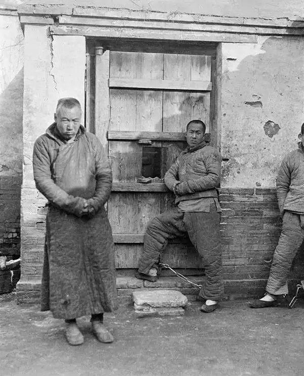 北京的囚犯,摄于1917-1919之间。(甘博/公有领域)