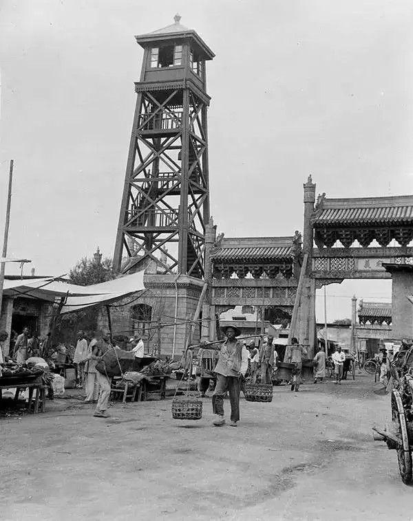北京观火台,摄于1917-1919之间。(甘博/公有领域)