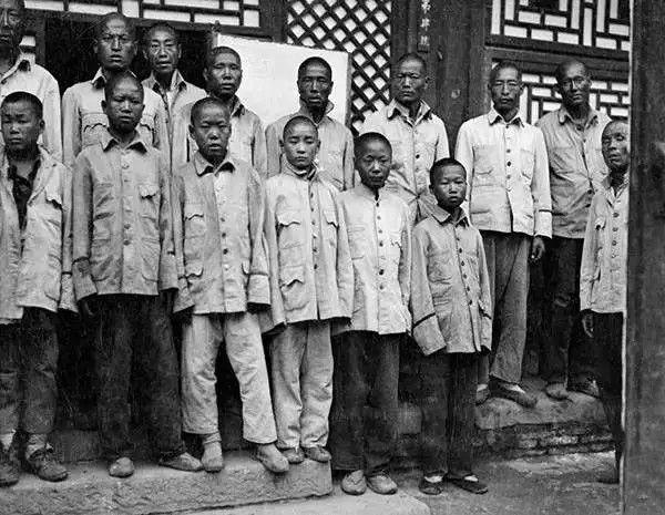中国学生的合影,摄于1917年-1919年之间。(甘博/公有领域)