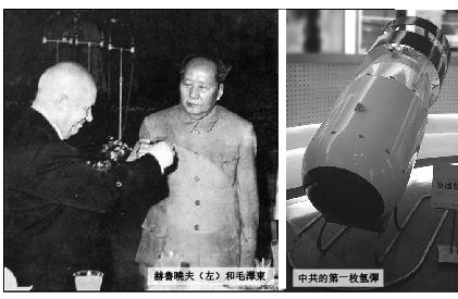 【祕檔】中共連騙帶嚇要赫魯曉夫助造核武