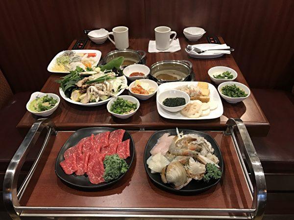 除了以蔬菜為主的基本菜單,還有多種套餐。(餐廳提供)