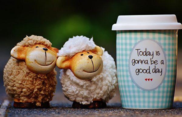 每一天的太阳都是新的,所以每一天我们都应该更积极快乐一些喔!(Pixabay)