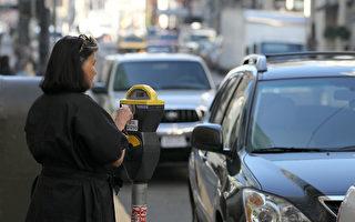 舊金山停車難,司機每年要付出高額代價。(Justin Sullivan/Getty Images)