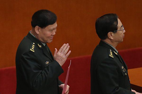 房峰輝、張陽落選軍隊十九大代表。(Feng Li/Getty Images)