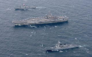 川普訪韓 航母艦隊和B-1B轟炸機全程保護