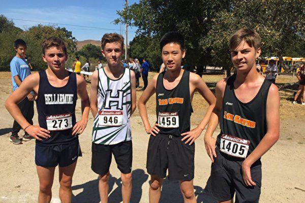 这些男孩都是Hillbrook毕业生,现在是湾区各顶尖高中的学生。(硅谷私立学校Hillbrook(K-8)提供)