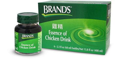 """美国鸡精(Essence of Chicken Drink)""""白兰氏鸡精""""最初是英国御厨献给乔治四世的补品。(白兰氏鸡精提供)"""