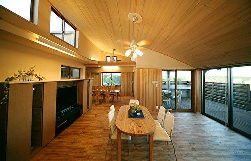 木造屋的内装风格。(图:诠鸿国际提供)