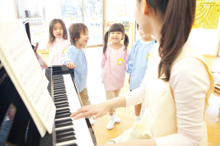 雅马哈音乐教育小组课。(Yamaha Music Education提供)