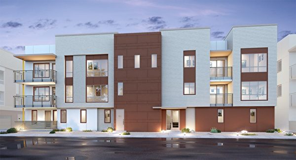 Milpitas新房,Lennar 开发的SoMont小区。(湾区房地产经纪Li Jin提供)