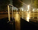 中共十九大召开前日,俄罗斯青年西瑞尔凌晨抵达北京,遭遇被房东拒绝入住,半夜流浪街头。(受访者提供)