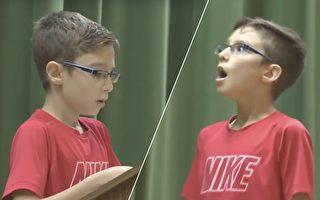 11歲男孩寫作文讚英雄 上台宣讀時引來神祕嘉賓