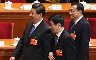中共中央政策研究室主任王滬寧(右)可能在中共十九大上入常。(Feng Li/Getty Images)