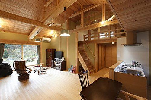 木造屋内的阁楼。(图:诠鸿国际提供)