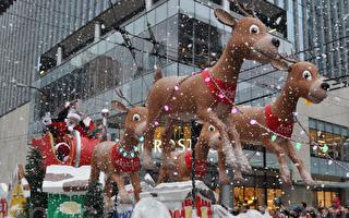 图说:一年一度的温哥华圣诞老人大游行今年可能来不了 (唐风/大纪元)