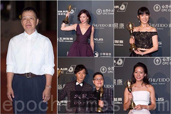 第52届金钟奖得奖名单揭晓,由王小隶(左)领军多位导演投入的《植剧场》抢下5项奖,成本届最大赢家。(许基东,罗正宗/大纪元合成)