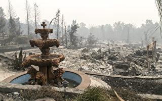 北加州衛生官員警告火災灰燼有毒