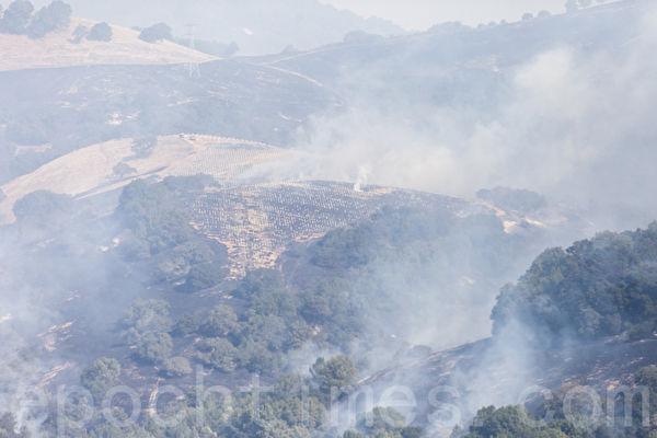北加州多处火灾令湾区空气质量恶化 污染达北京水平