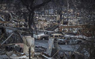 加州史上最严重的山林大火已造成至少40人死亡,原本美丽的社区几乎全毁。图为2017年10月14日,加州圣罗莎一处遭焚毁的民宅。(David McNew/Getty Images)