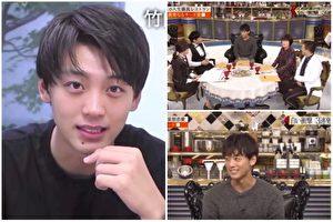 日本爆红的新生代男星竹内凉真(左,档案照),日前于美食节目《人生最棒餐厅》中分享自己对饮食的喜好(图右节目画面)。(视频截图/大纪元合成)
