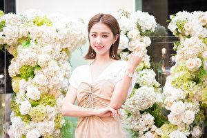 邵雨薇10月16日在台北出席时尚活动。(陈柏州/大纪元)