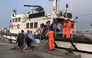 宏都拉斯貨輪翻覆 失蹤船員漂流8小時獲救