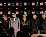 韩国男子团体BIGBANG档案照。 ( PHILIPPE LOPEZ/AFP/Getty Images)