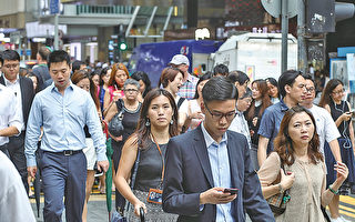 有薪酬調查顯示,受訪商業機構預測明年僱員平均加薪3.5%至3.8%,加幅略遜今年。(大紀元資料圖片)