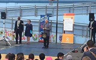 市长李孟贤表示做好准备能更好应对突发情况。(景雅兰/大纪元)