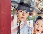 由周元(左起)、吴涟序主演的《我的野蛮女友》古装剧(剧照),将自10月26日起晚间8点到10点在卫视中文台首播。(纬来戏剧台提供)