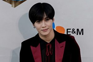 「SHINee」成員泰民資料照。  (ANTHONY WALLACE/AFP/Getty Images)
