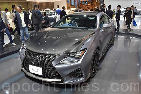 第45届东京车展于10月27日至11月5日在东京Big Sight展览馆举行。(野上浩史/大纪元)