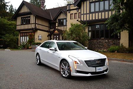 2017 Cadillac CT6。〈李奧/大紀元〉