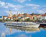 多瑙河畔的帕绍。(帕绍旅游局提供)