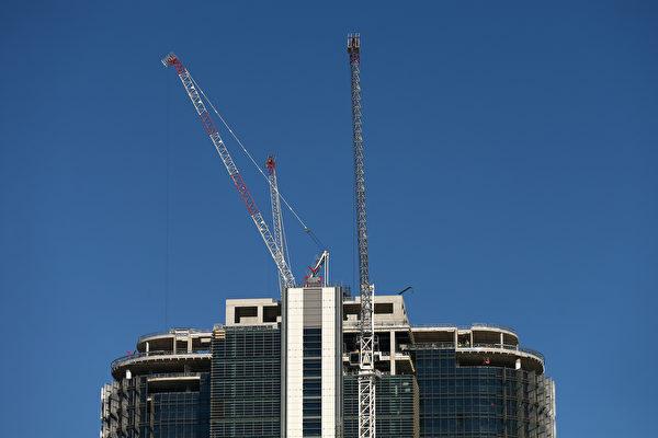 受到资金外流的限制,中国开发商对澳洲大型房地产项目开发有些难以为继。 (Cameron Spencer/Getty Images)