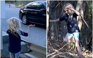 汽车冲下山崖妈妈昏死 5岁女童的举动让人激赞