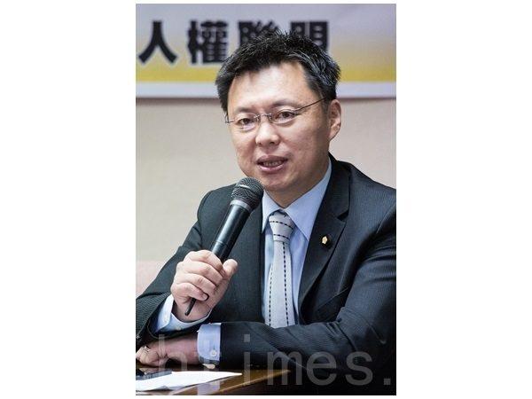 民进党团内政政策小组召集人赵天麟表示,《政党法》草案已完成初审,朝野协商有共识即能继续推进,将在本会期力拼三读通过。(陈柏州/大纪元)