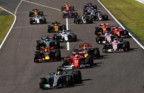 今年是F1大奖赛在铃鹿赛道比赛的30周年。 (Mark Thompson/Getty Images)