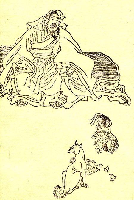 葛洪画像,他是东晋时期著名的医学家兼道教人物。(维基百科公有领域)