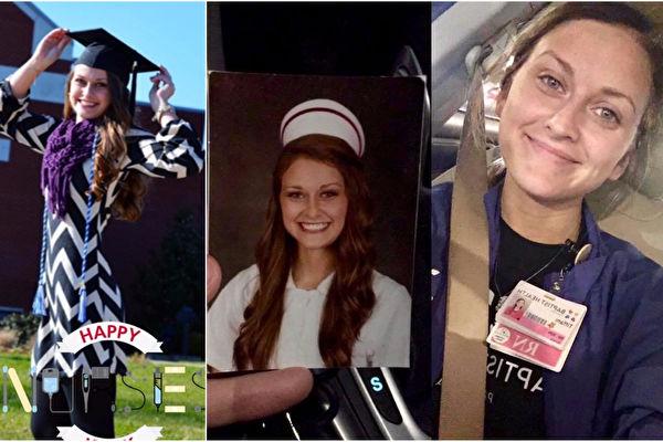 才畢業兩年的蒂芬妮,從「立志不只是當個小護士」到「立志當個小護士」,從「為我」到「為他」的巨大心態轉變令人佩服。(Facebook: