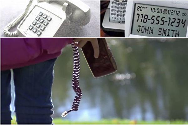 过逝亲友打来的电话,电话线的另一端来自哪里?大家都想知道。(视频截图/大纪元合成)