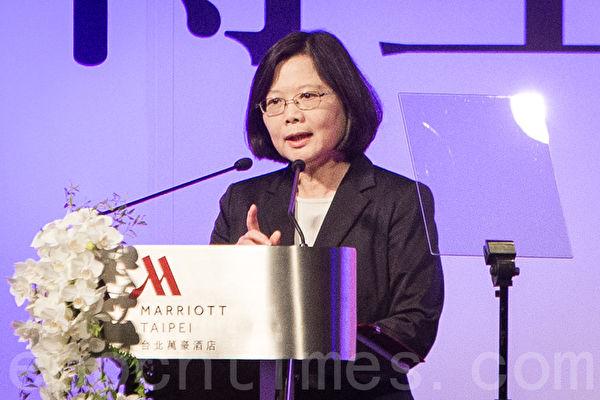 學者表示,中國最高領導人習近平對台政策談文化、民族認同,有無限大的活動空間,台灣的決策者也要思考有哪些空間可發揮。圖為中華民國總統蔡英文。(大紀元資料照)