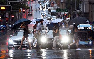 悉尼周五降大雨 大大缓解数月来干旱天气
