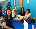 10月21日(星期六)下午,聖名醫院華人醫療組與愛迪生中文學校在位於愛迪生市的John Adams中學內,舉辦了免費的健康篩檢社區活動。(愛迪生中校提供)