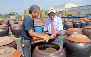 北港名產 九十歲老爺爺的純釀醬油