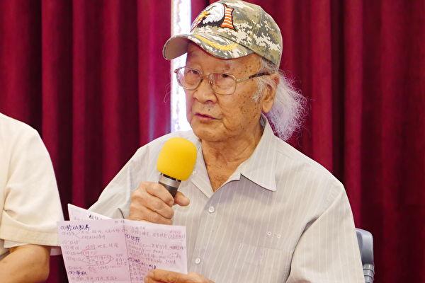 人权斗士冯国将认为,台湾是亚洲自由、民主、人权的灯塔,希望台湾永远散发出最光辉灿烂的光芒。(郭曜荣/大纪元)