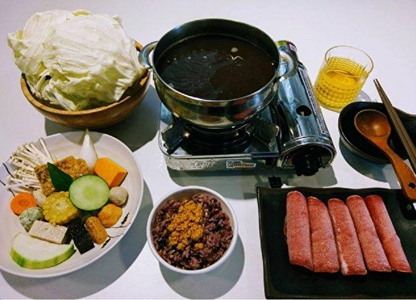 """位于台湾屏东""""青创聚落""""的养泉药膳养生火锅,再搭配在地安全无毒食材,吃出健康好体态。(养泉商行提供)"""