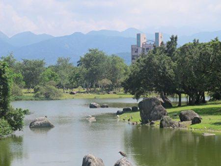 羅東運動公園。(吳雁門/大紀元)